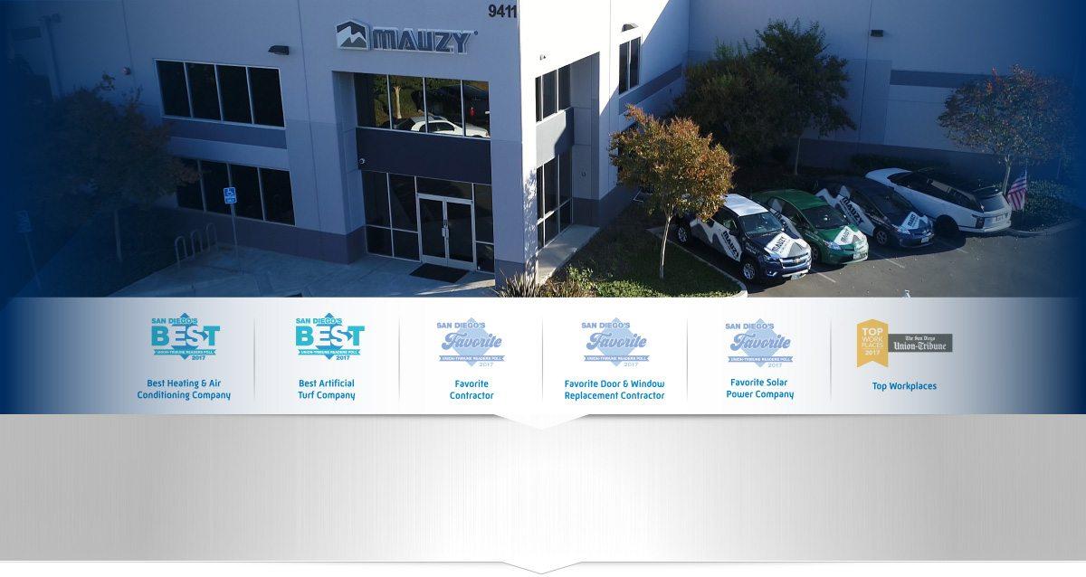 Mauzy Heating, Air & Solar | San Diego's Choice for HVAC
