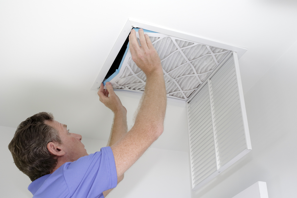 Keep your new AC or HVAC Unit in good condition by replacing air filters regularly